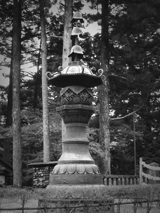 Framed Nikko Sculpture Print