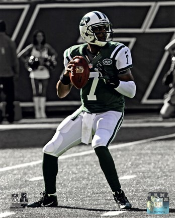 Framed Geno Smith 2013 Spotlight Action Print