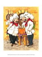 Soup Chefs  Fine Art Print