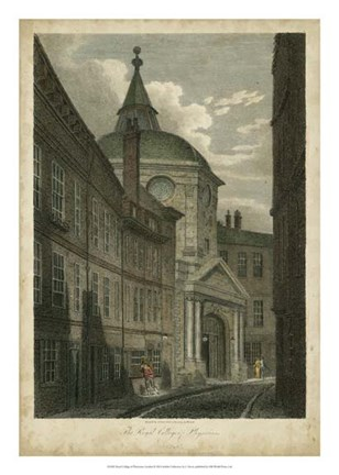 Framed Royal College of Physicians, London Print