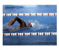 US Navy Swimmer  Fine Art Print