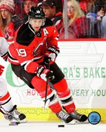 Travis Zajac on ice 2013-14 Art