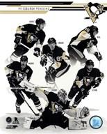 Pittsburgh Penguins 2013-14 Team Composite  Fine Art Print