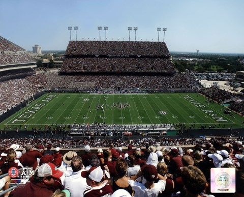 Framed Kyle Field Texas A&M Aggies 2013 Print