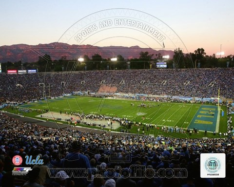 Framed Rose Bowl UCLA Bruins 2013 Print
