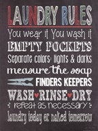 Laundry Rules Art