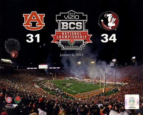 2014 Bcs National Championship Florida State Seminoles Vs