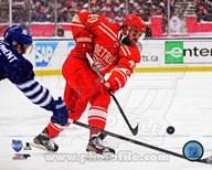 Henrik Zetterberg on ice 2014 NHL Winter Classic Art