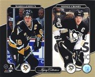 Mario Lemieux & Sidney Crosby Legacy Collection  Fine Art Print