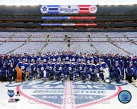 Toronto Maple Leafs Team Photo 2014 NHL Winter Classic Art