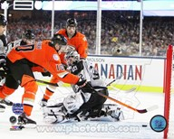 Corey Perry Goal 2014 NHL Stadium Series Art