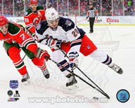 Chris Kreider 2014 NHL Stadium Series Action Art