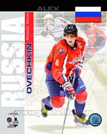 Alex Ovechkin- Russia Portrait Plus Art
