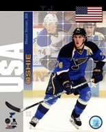 T.J. Oshie - USA Portrait Plus Art