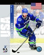 Ryan Kesler - USA Portrait Plus Art