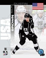 Dustin Brown - USA Portrait Plus Art