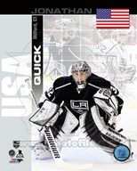 Jonathan Quick - USA Portrait Plus Art