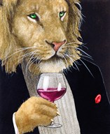 The Wine King  Fine Art Print