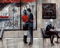Bistro Romance Art