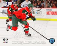 Zach Parise 2013-14 Action Art