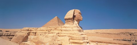Framed Sphinx Giza Egypt Print