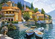 Lake Como Landing  Fine Art Print