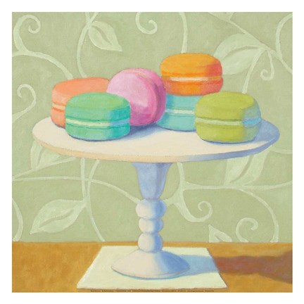 Framed Mixed Macarons Print