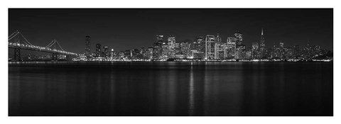 Framed City by the Bay - Treasure Island, CA Print