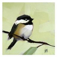 Chickadee No. 143  Fine Art Print