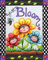 Just Bloom  Fine Art Print