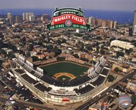 Wrigley Field 100th Anniversary  Fine Art Print