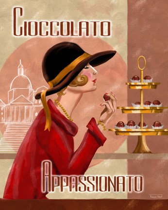 Framed Italian Chocolate II Print