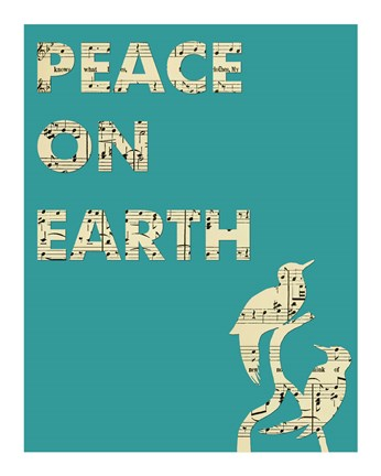 Framed Peace On Earth Print