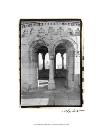 Framed Fisherman's Bastion I Budapest Print