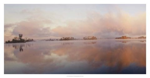 Framed Islands Panorama Print