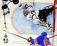 Jonathan Quick Game 3 of the 2014 Stanley Cup Finals Action Art