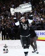 Mike Richards with the Stanley Cup Game 5 of the 2014 Stanley Cup Finals Art