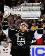 Marian Gaborik with the Stanley Cup Game 5 of the 2014 Stanley Cup Finals Art