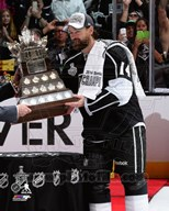Justin Williams with the Conn Smthye Trophy Game 5 of the 2014 Stanley Cup Finals Art