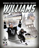 Justin Williams 2014 NHL Conn Smythe Trophy Winner Portrait Plus Art