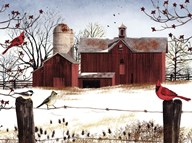 Winter Friends  Fine Art Print