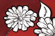 Flowers in Unity - Red  Fine Art Print