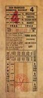 Vintage Railway Ticket  Fine Art Print