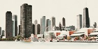 Chicago Waterfront A  Fine Art Print