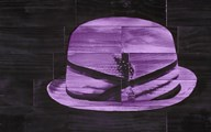 Pork Pie - Purple Art
