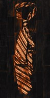 Single Man's Tie 2 - Orange Art