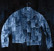 Jean Jacket - Blue Art
