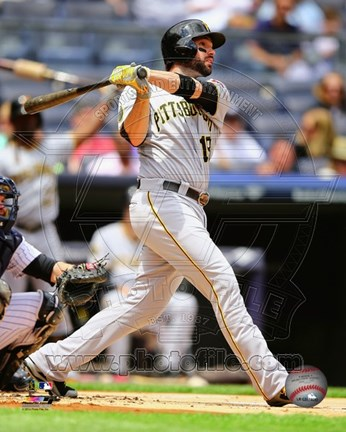 Framed Neil Walker 2014 baseball Print