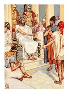 Solon the Wise Lawgiver of Athens Art