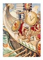 Brasidas loses his shield Art